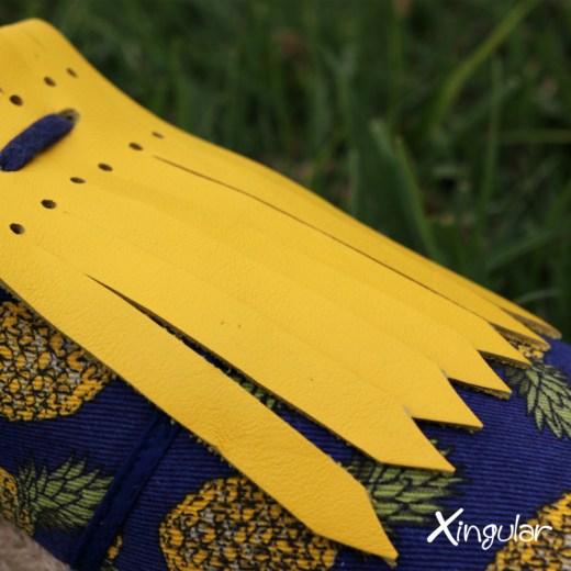 flecos zapatillas amarillo shot