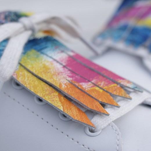 flecos zapatillas gaudi detalle