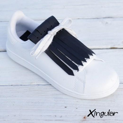 flecos zapatillas negro