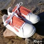 flecos zapatillas murano rojo mar par