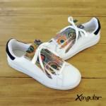 Flecos Zapatillas Círculos Abstractos pares 800px