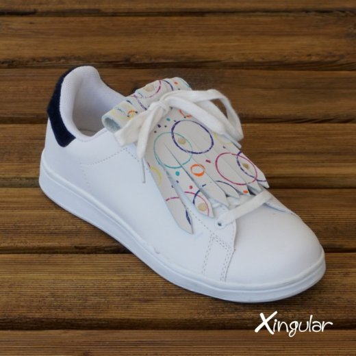 Flecos Zapatillas Circulos Pop Art