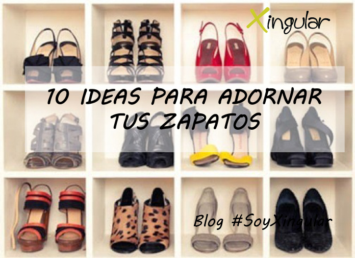 Ideas adornar zapatos