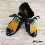 lengüetas zapatos camuflaje par