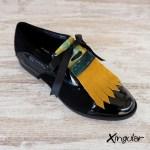 lengüetas zapatos camuflaje