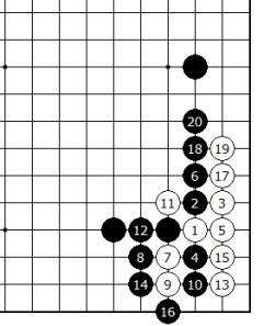 Diagram 15 - White is Alive