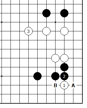 Diagram 16 - White can Tenuki