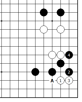Diagram 17 - White takes Side