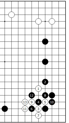 Diagram 9 - White is Alive