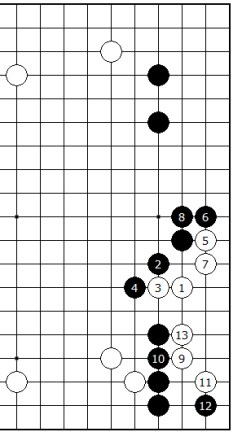 Diagram 2 - Old Joseki