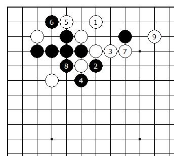 Diagram 17 - Joseki Choice
