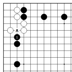 Diagram 3 - Can White Tenuki?