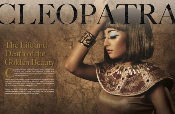 cleopatra layout