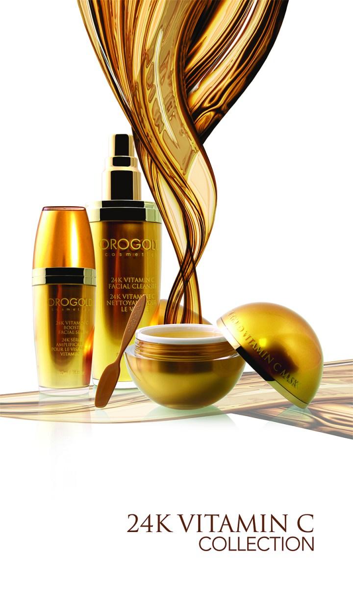 orogold cosmetics vitamin c collection