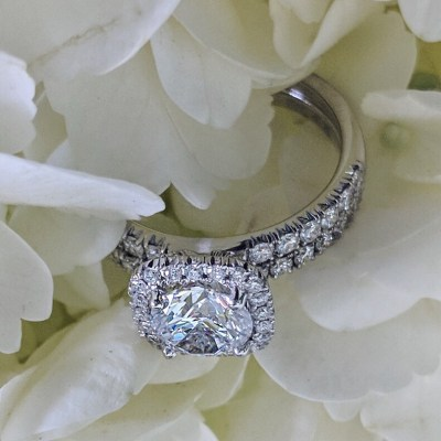 diamond cut wedding ring
