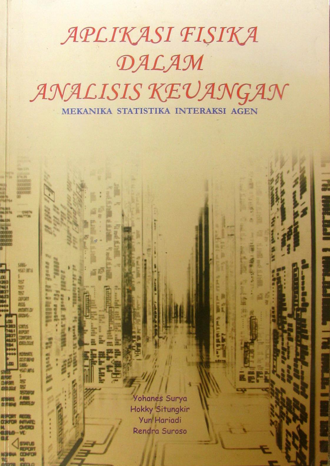 Aplikasi Fisika Dalam Analisis Keuangan: Mekanika Statistika Interaksi Agen