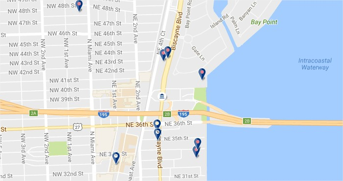 Design District Miami - Click to see hotels on a map