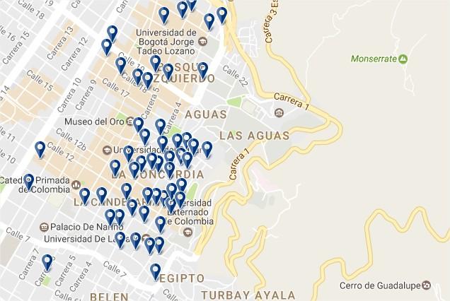 Stay in La Candelaria - Clicca qui per vedere tutti gli hotel su una mappa