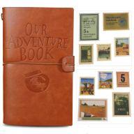 Diario de viaje de cuero Osunp