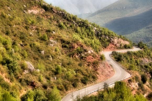Carretera a Collbató