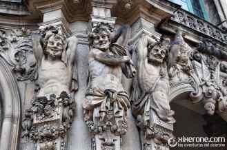 Esculturas del palacio Zwinger