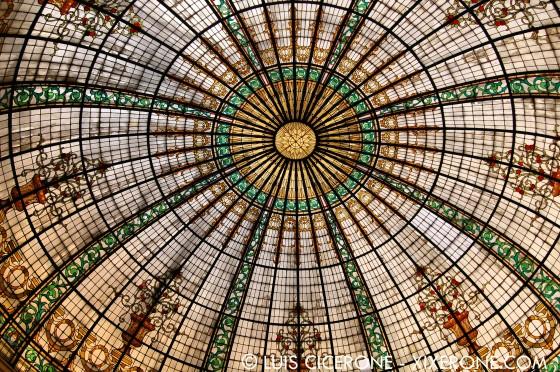 Hotel Bolívar - Cúpula de cristal