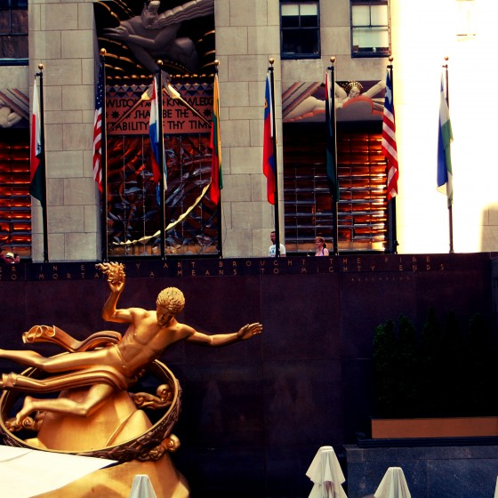 Plaza del Rockefeller Center