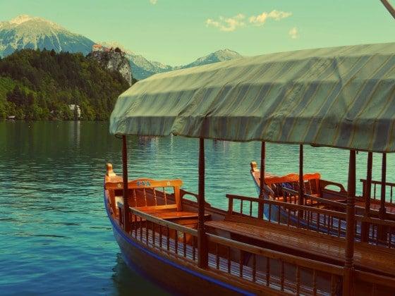 Pletna del lago de Bled
