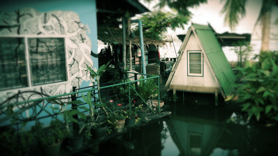 Phiman Guesthouse - Patio y zonas comunes