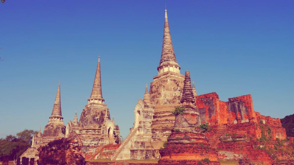Wat Phra Si Sanphet de Ayutthaya