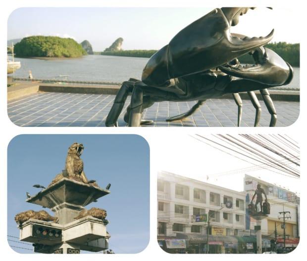 Esculturas en Krabi