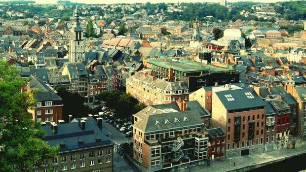Namur desde las alturas