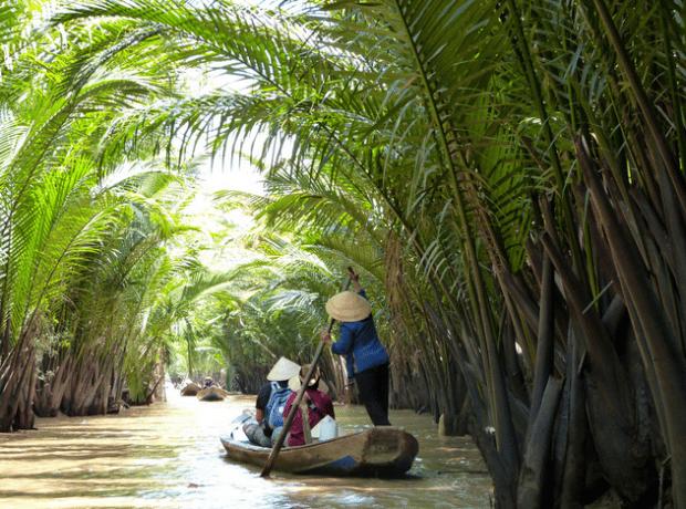 delta del río Mekong, Vietnam