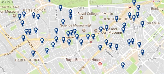 Londres - Kensington & Chelsea - Haz clic para ver todos los hoteles en esta zona