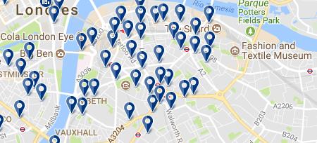 Londres - Southwark - Haz clic para ver todos los hoteles en esta zona