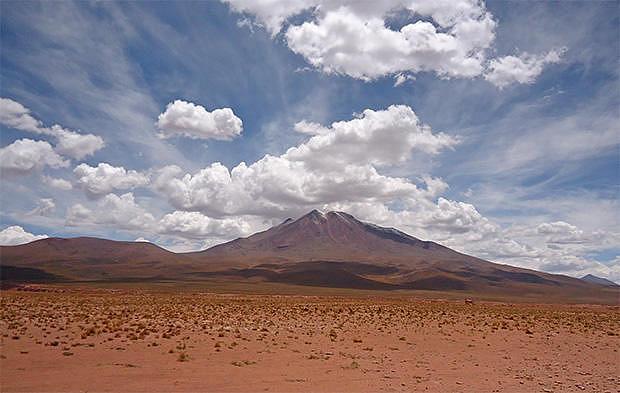 Montanas del altiplano