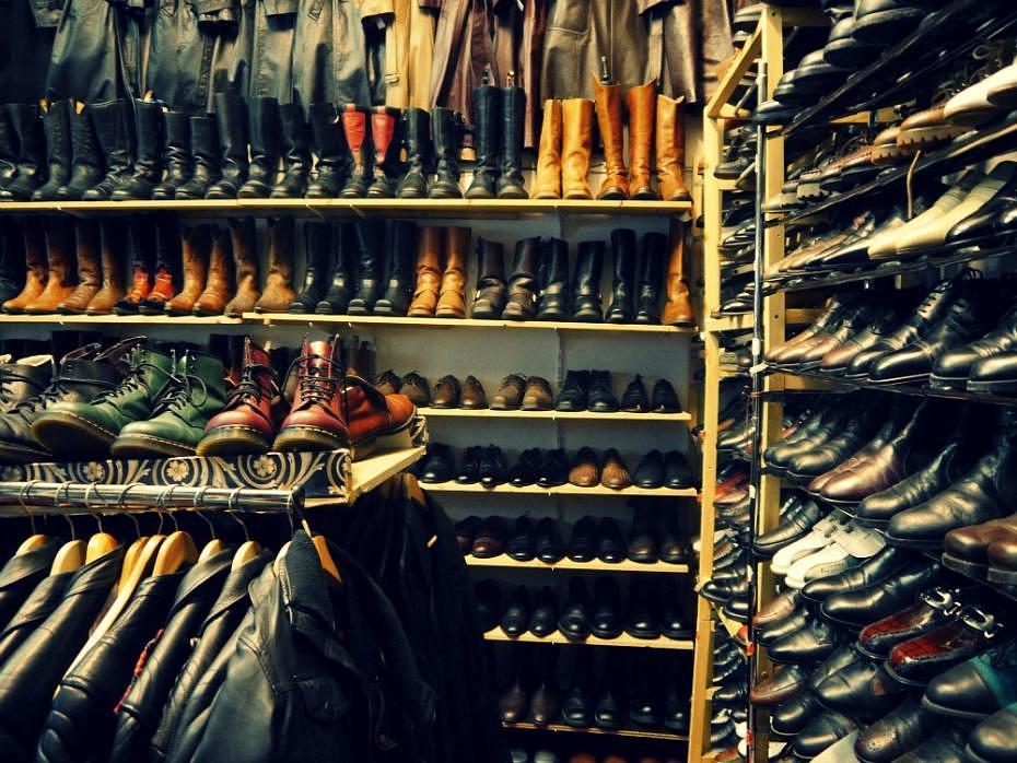 Tienda vintage en Berlín