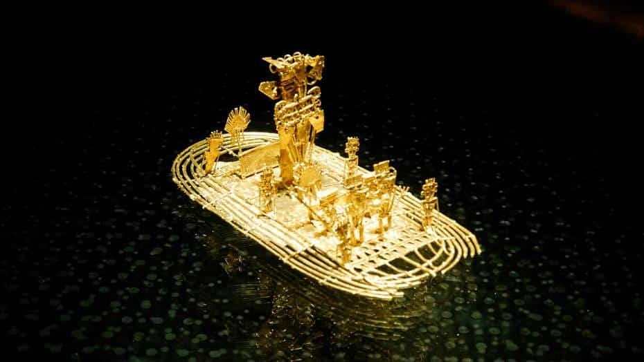 Balsa Muisca - Museo del Oro de Colombia