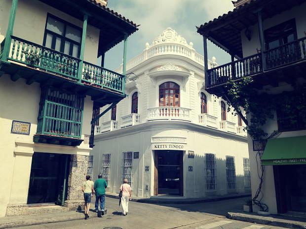 Calle del centro de Cartagena