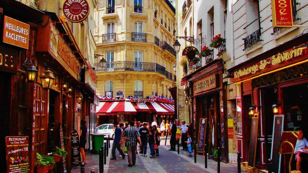 Mejores zonas para dormir en París - Barrio Latino