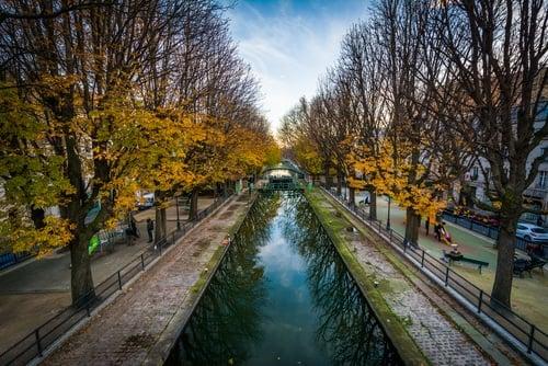 Mejores zonas para dormir en París - Canal Saint Martin