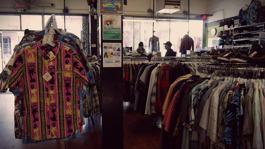 Tienda vintage en el barrio hippie de San Francisco