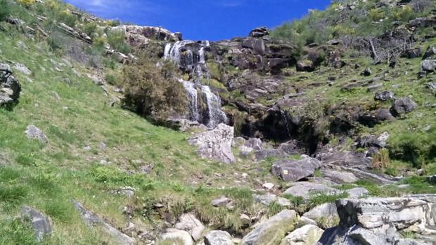Cascadas en los molinos de Folón y Picón