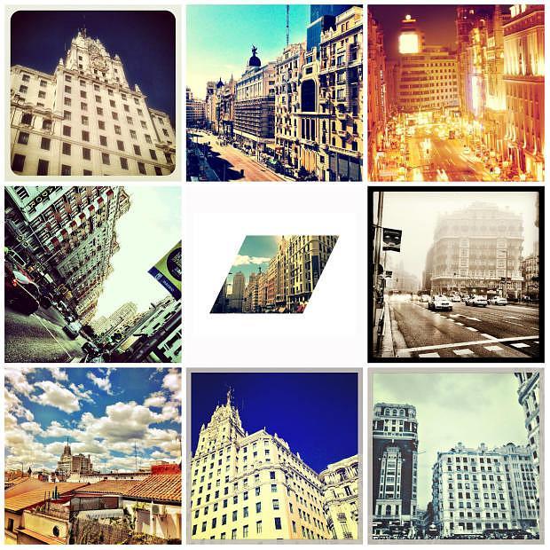 Algunas de mis fotos de la Gran Vía en Instagram