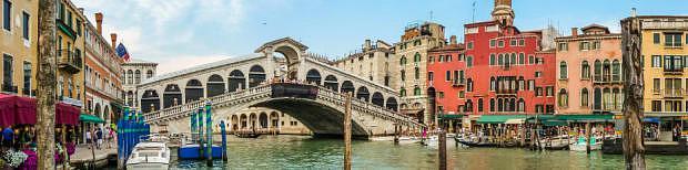 Puente de Rialto - Dónde dormir en Venecia