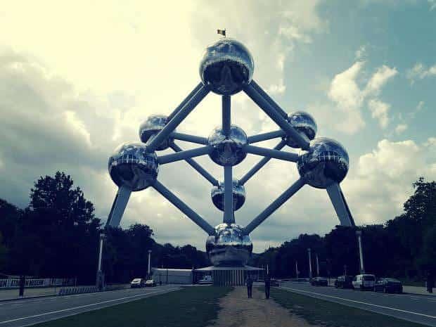 El Atomium o una de las más famosas atracciones de Bruselas