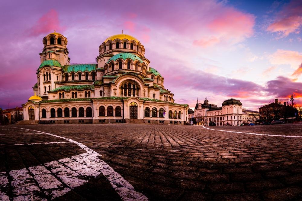 Mejores zonas para alojarse en Sofía Bulgaria - Cerca de la catedral