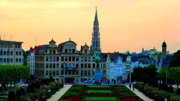 Mont des Arts - Vistas de Bruselas