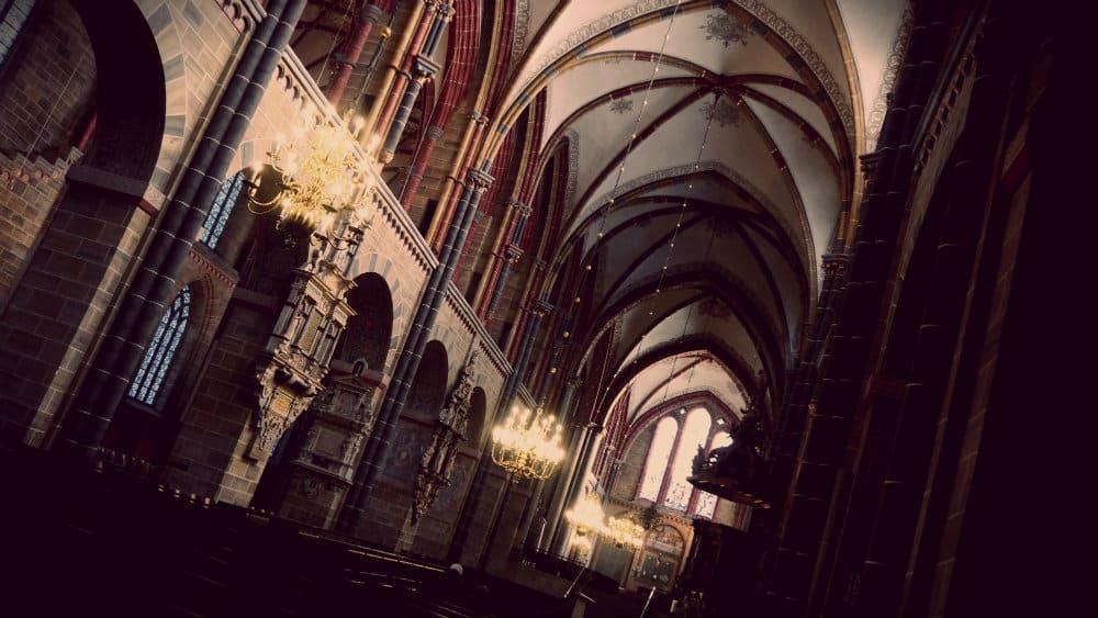 Interior de la catedral de Bremen