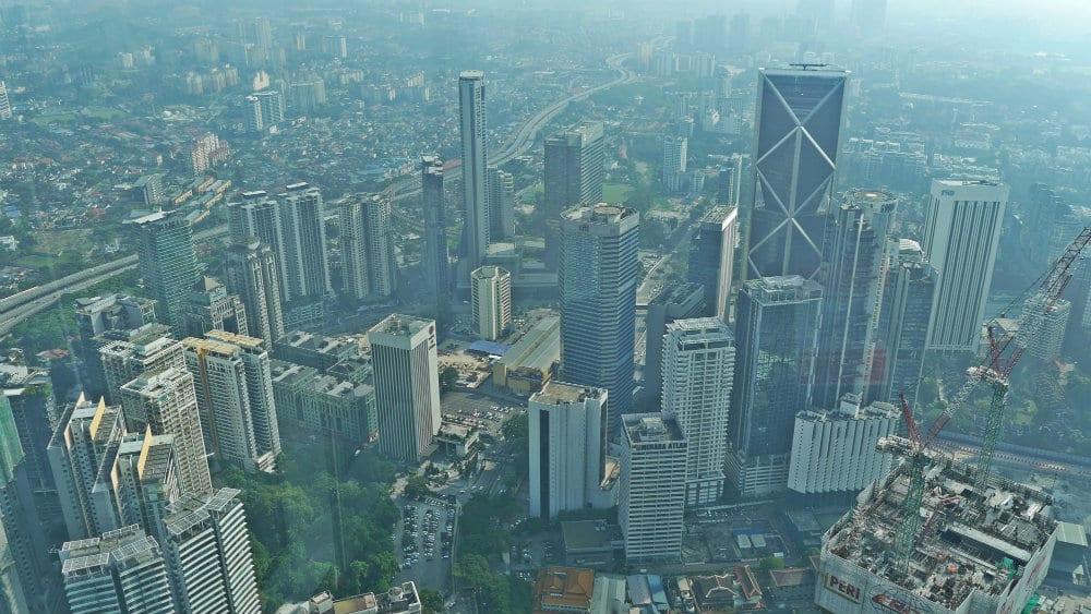 Vistas desde las torres Petronas